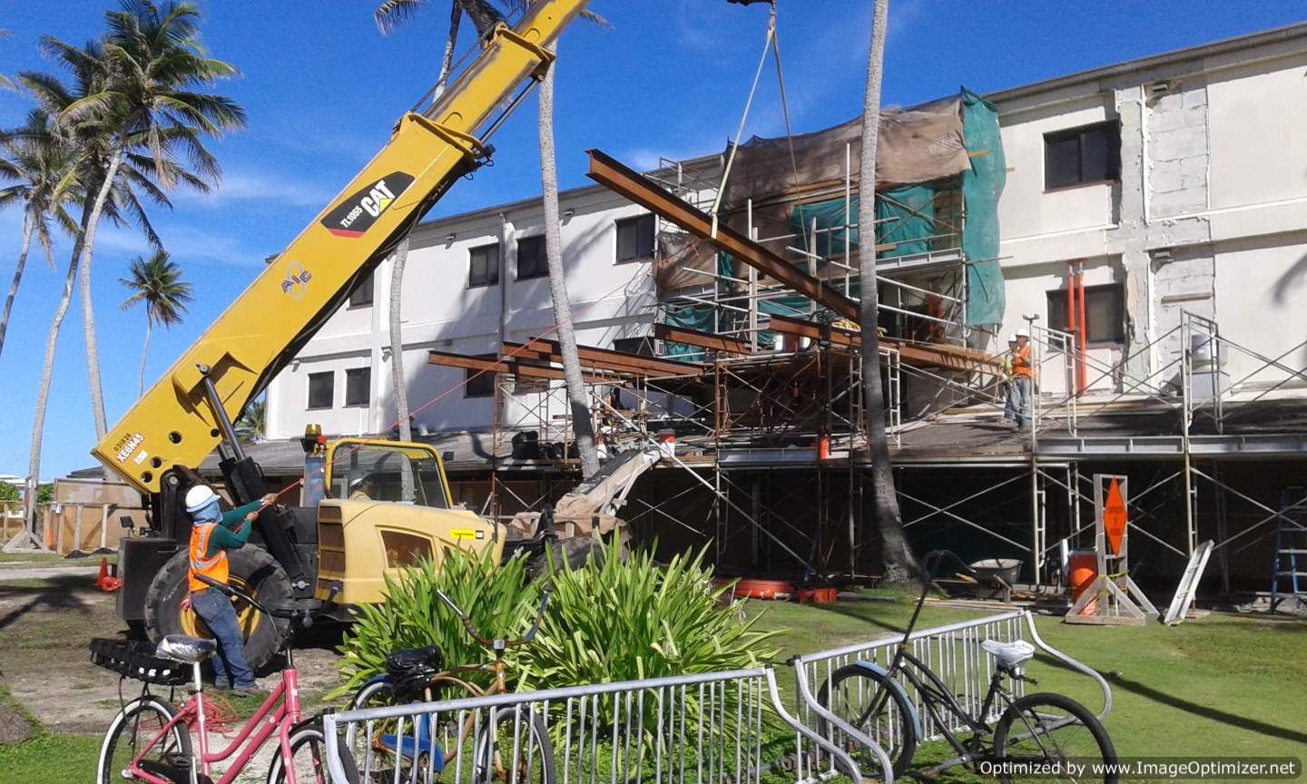 Structural Repair to Facility, Kwajalein