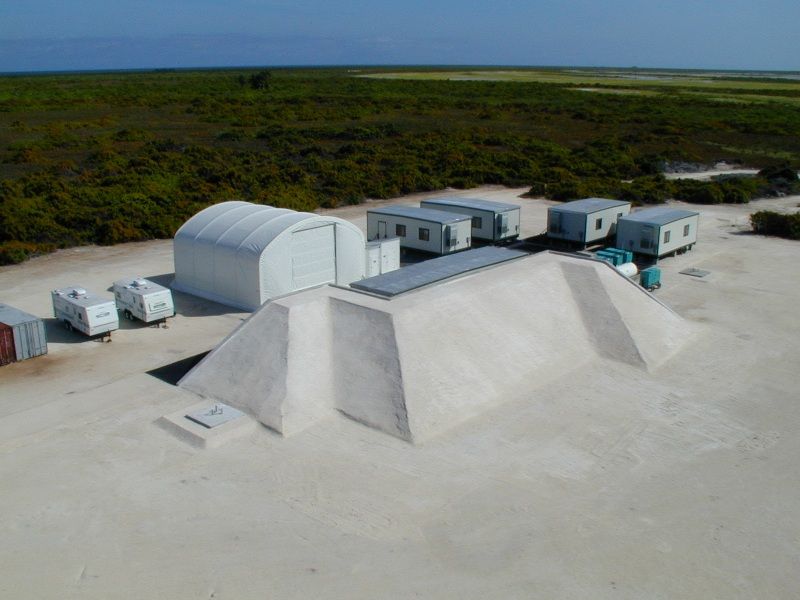 Hope-X Testing Facility and Downrange Tracking Stations