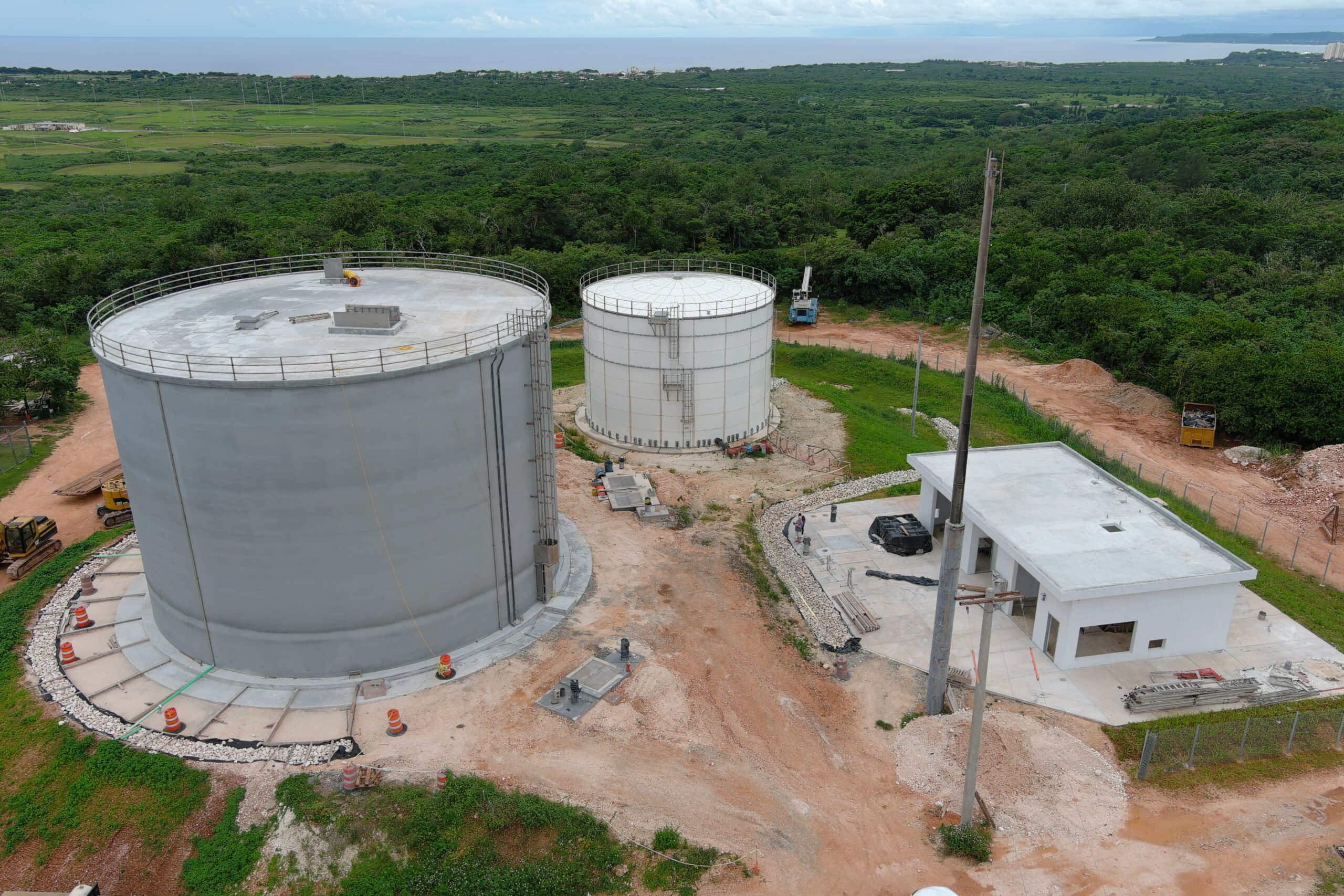 Construct Three Central Guam One Million Gallon Water Reservoirs
