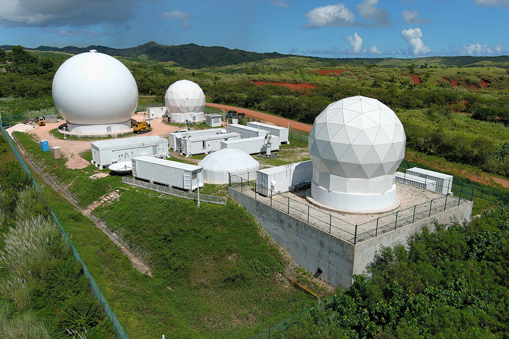 Rocket Launch Down Range Tracking Stations